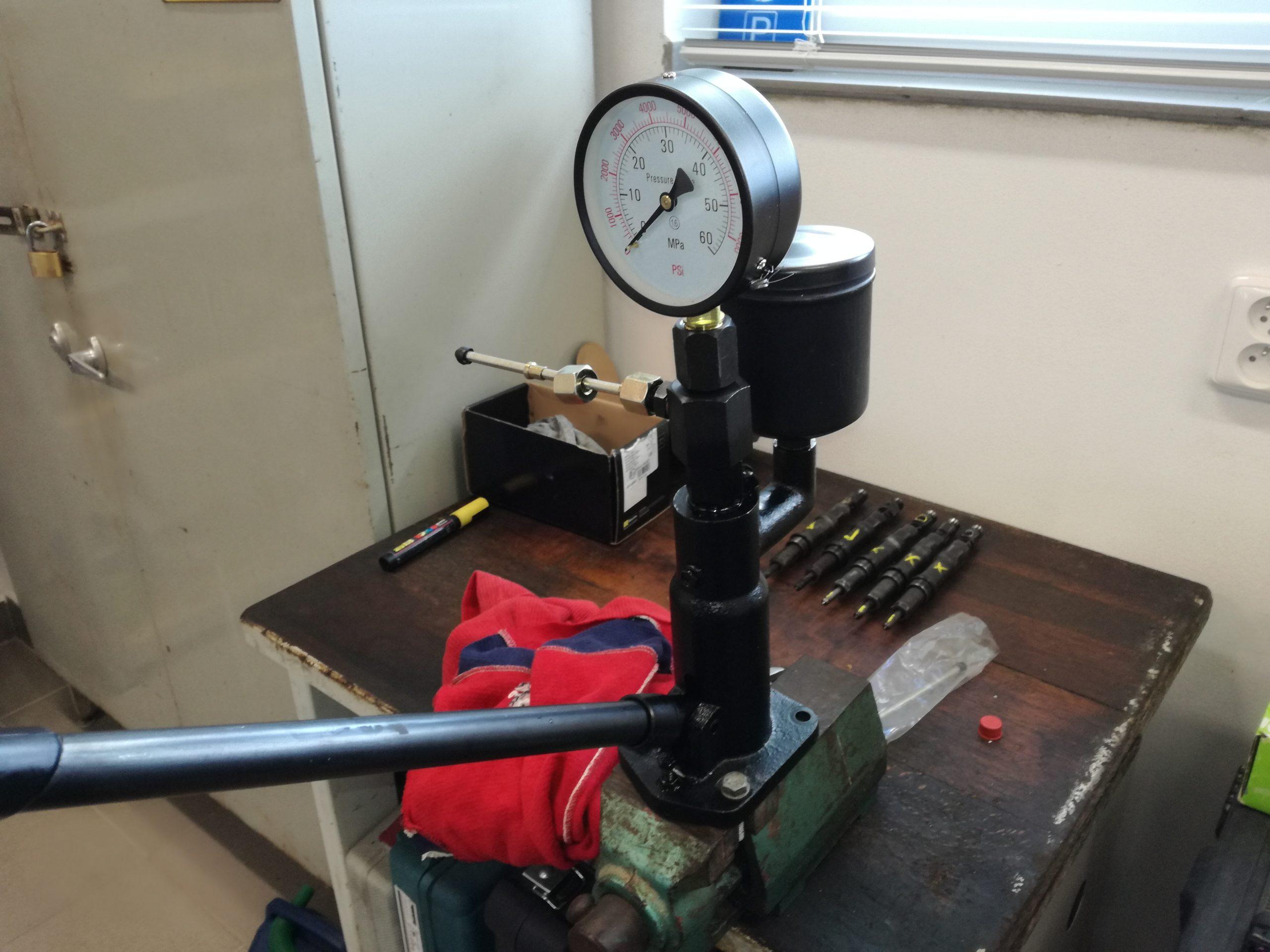 tester diesel vstřikovačů