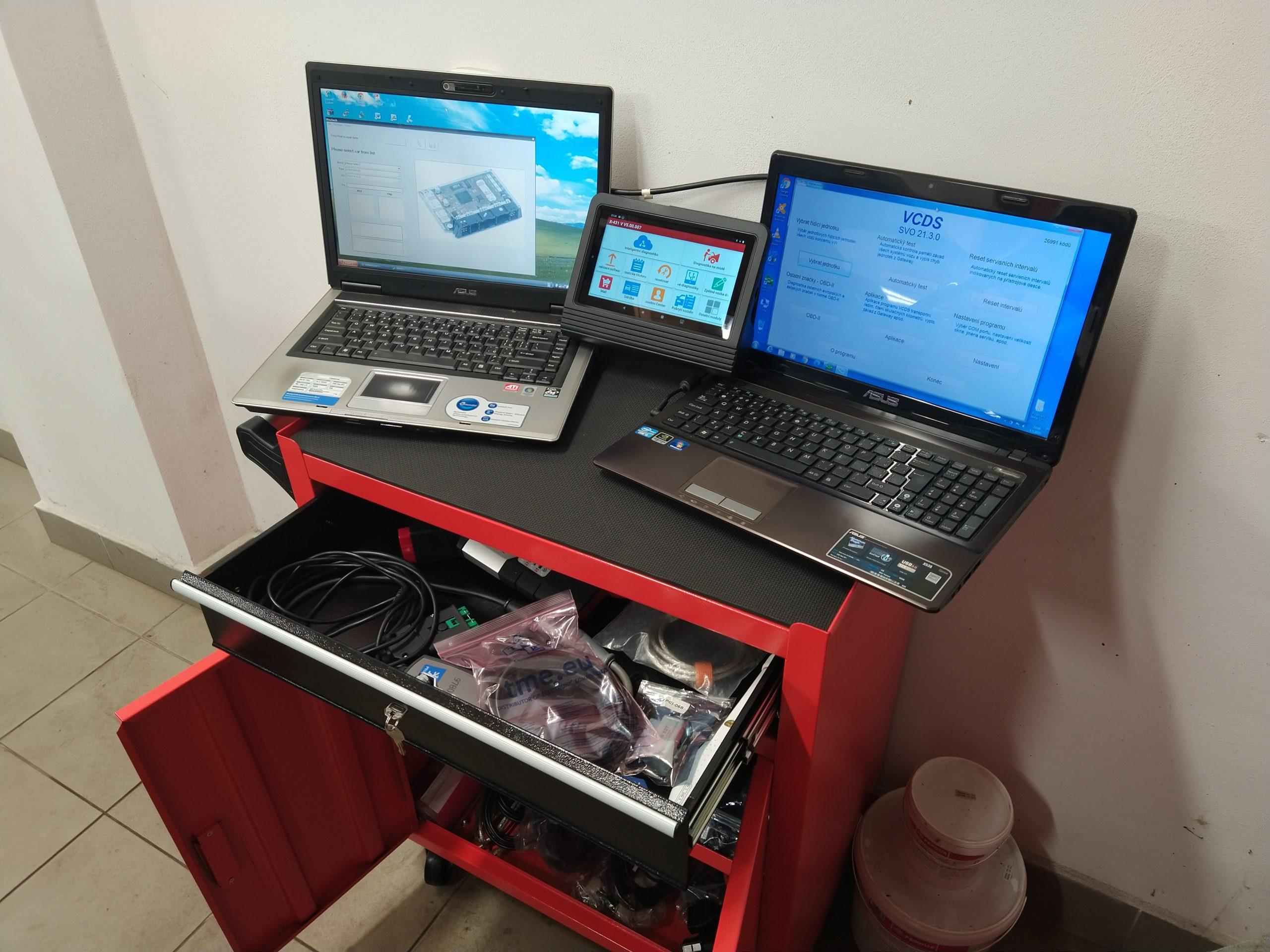 diagnostický stůl